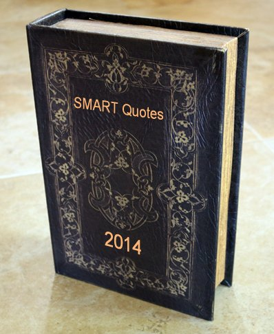 SMART Quote Book 2014  50 Inspiring & SMART Quotes To Start Off 2014!