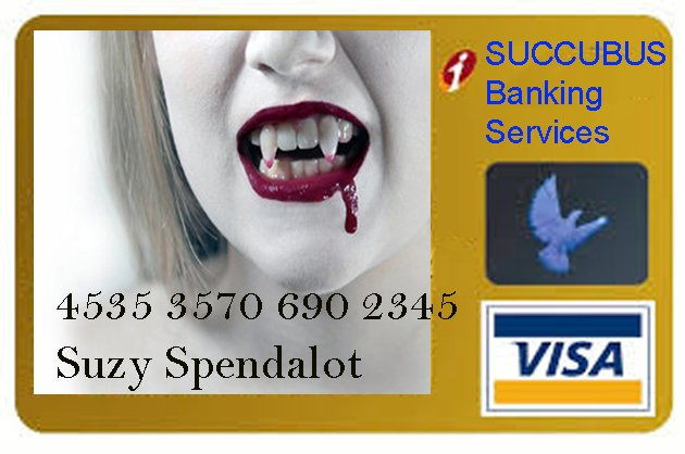 KG Visa Card V2 Five Ways To Slay The Succubus of Crippling Debt