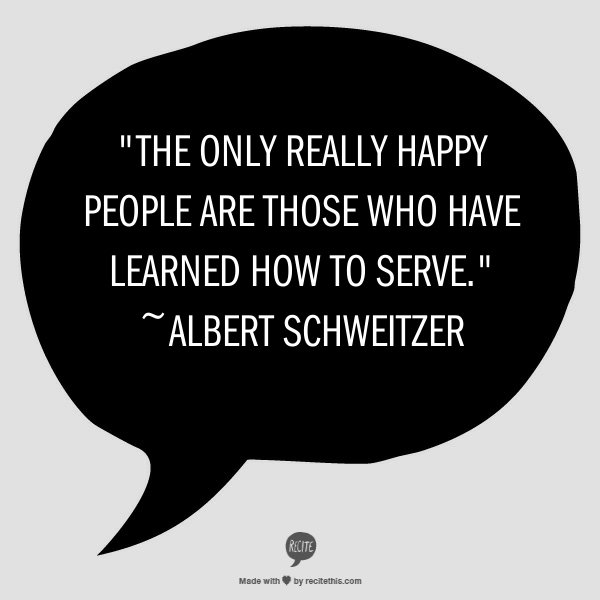 Service 5 Volunteering—Seven Reasons Why Serving Others Serves Us