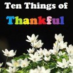 3rd Annual SMART Living Gratitude Challenge 2014…Ten Things of Thankful  TToT